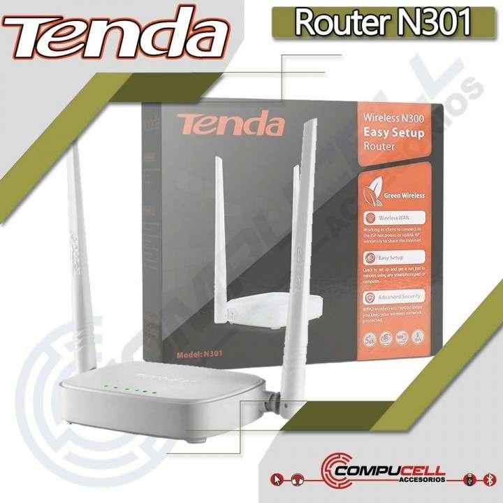 Router Inalámbrico TENDA N301 - 0