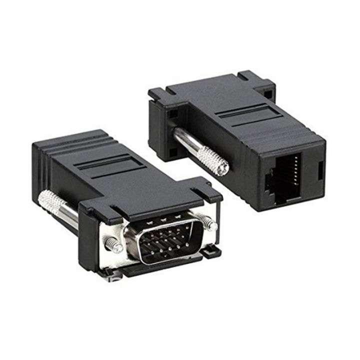 Extensor VGA RJ45 - VGA Macho a RJ45 Hembra - 2