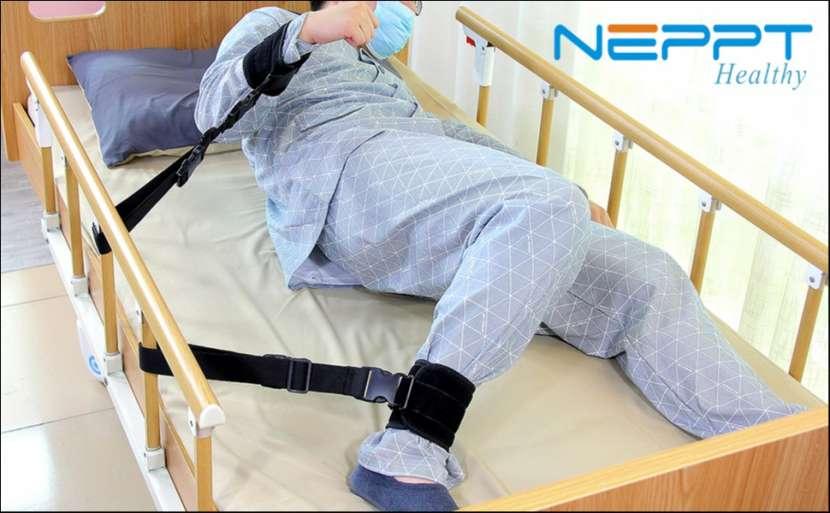 Sujetador de muñeca o tobillo para pacientes encamados - 0