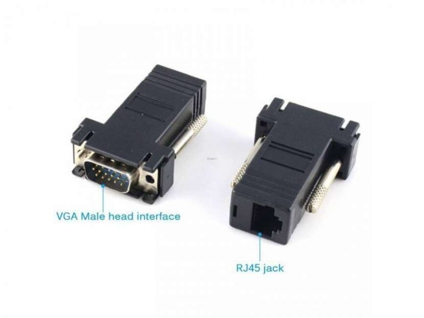 Extensor VGA RJ45 - VGA Macho a RJ45 Hembra - 1