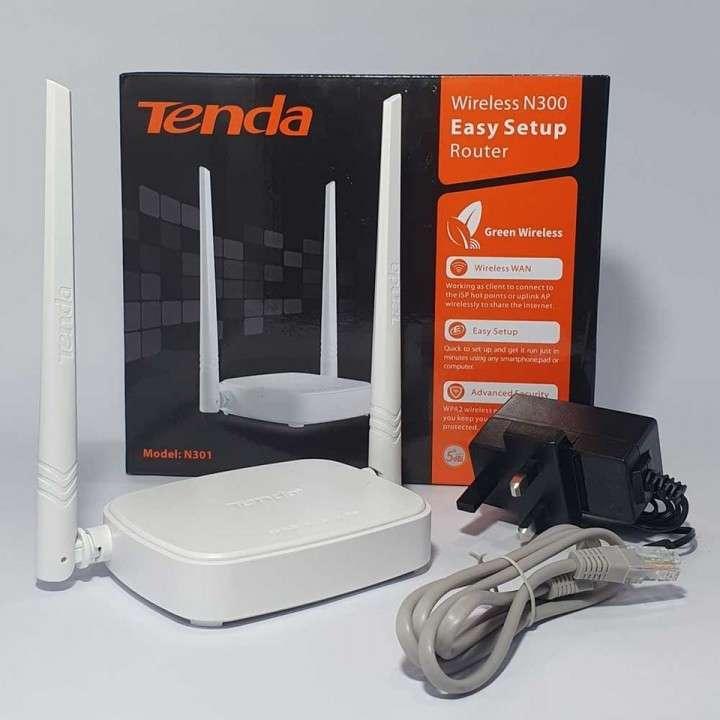 Router Inalámbrico TENDA N301 - 1