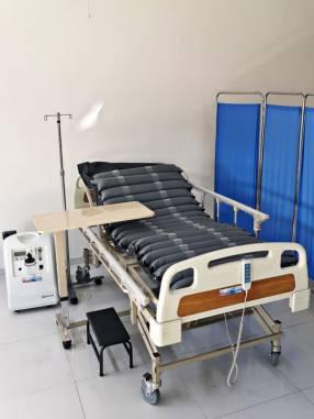 Equipamiento de hospital en casa