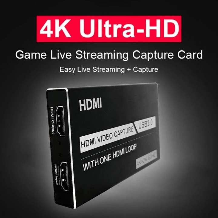 Capturadora de video HD 60Hz para streaming - 3