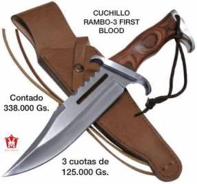 Cuchillo Rambo 3 first blood