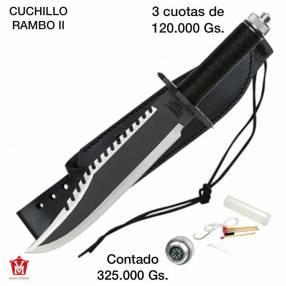 Cuchillo Rambo 2
