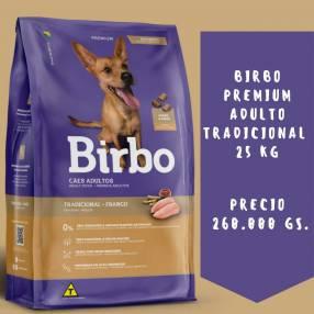 Balanceado Birbo adulto tradicional 25 kg