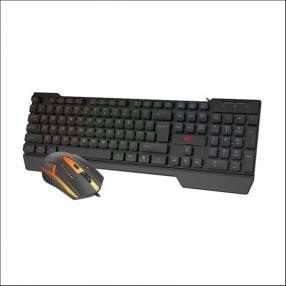 Combo de teclado y mouse gamer Havit