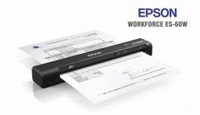 Escáner Portátil Epson WorkForce ES-60W