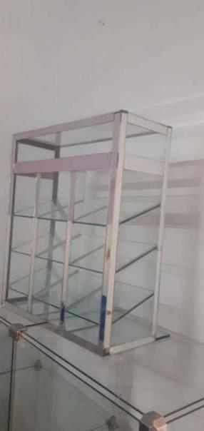 Caramelero de vidrio