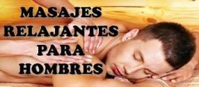 Servicio de masajes a domicilio