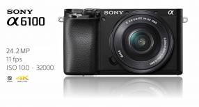 Cámara Sony A6100 Kit 16-50mm