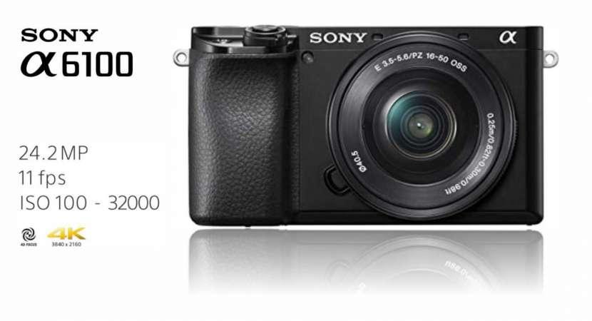 Cámara Sony A6100 Kit 16-50mm - 0