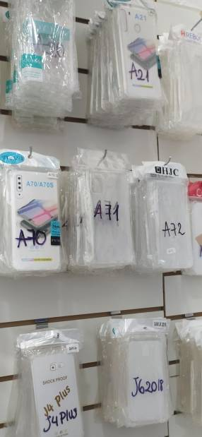 Protectores transparente para Samsung Xiaomi iPhone y Huawei