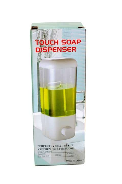 Dispensador de jabón líquido y alcohol en gel - 1