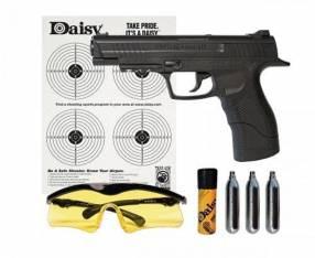 Pistola de co2 4.5mm + accesorios