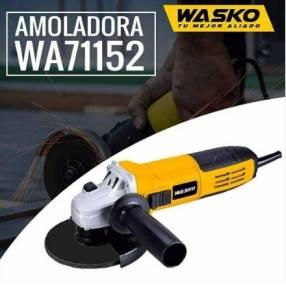 Amoladora angular Wasko 115MM