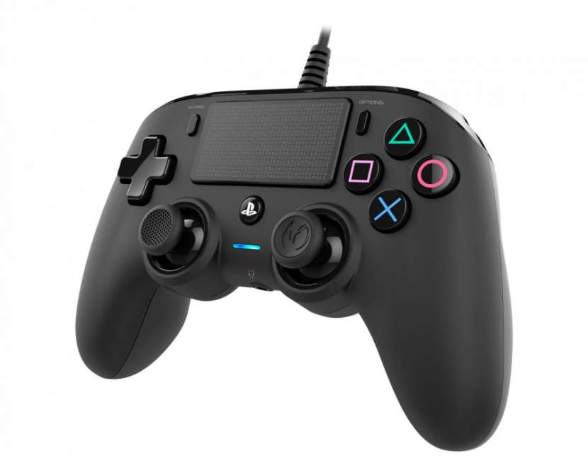 Game PS4 Ac control Dualshock Nacon Wired Cinza - 1