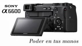 Cámara Sony A6600 Cuerpo