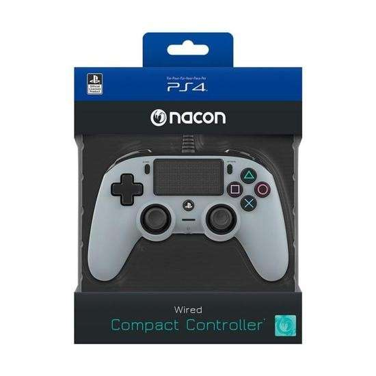 Game PS4 Ac control Dualshock Nacon Wired Cinza - 0