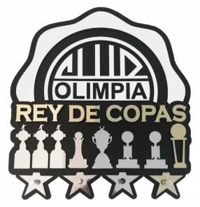 Porta llaves Olimpia rey de copas