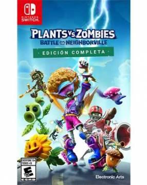 Plantas vs Zombies para Nintendo Switch