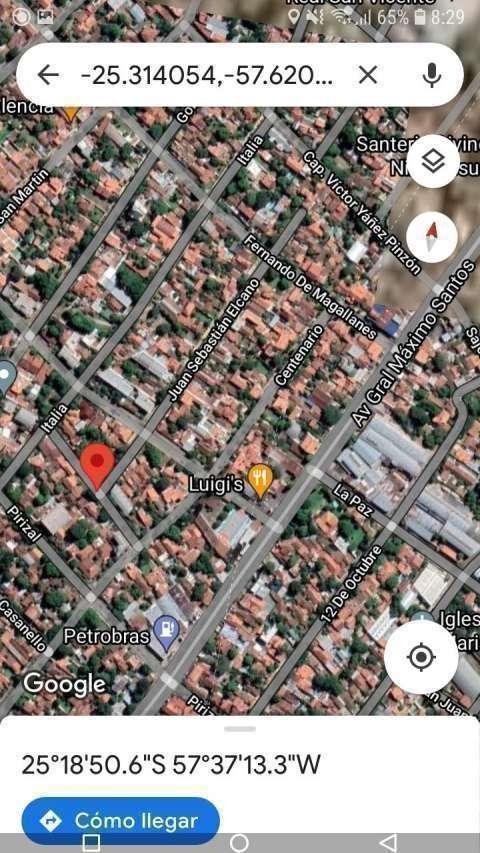 Casa en Barrio San Vicente Asunción - 0