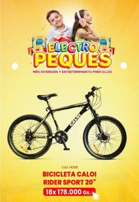 Bicicleta Caloi Rider Sport aro 20
