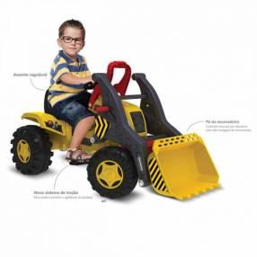 Tractor excavadora