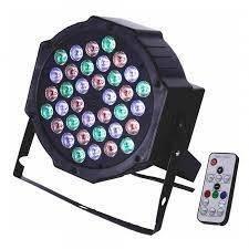 Lámpara giratoria de colores