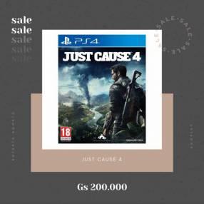 Just Cause 4 para PS4