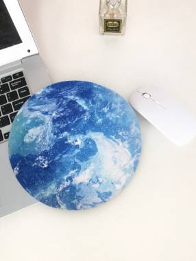 Mouse pad con diseño de luna