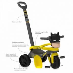 Triciclo mototico Batman paseo y pedal