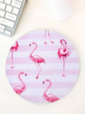Mouse pad con diseño flamenco
