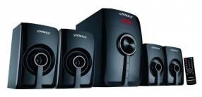 Cine en casa y equipo de sonido 4 parlantes 6.000W