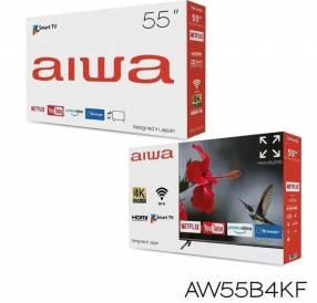 Smart TV Aiwa de 55 pulgadas + soporte giratorio