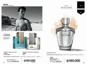 Perfumes Avon Luck-Maxime