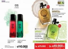 Perfumes masculinos Avon