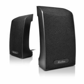 Parlante PC USB Kolke Wired Negro KPC-470
