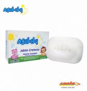 Jabón en barra cremoso Aguababy