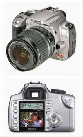 Cámara Canon XT