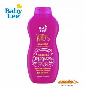 Shampoo BabyLee Brillitos Mágicos con aceite de argán 400 ml