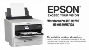 Impresora monocromática Epson WorkForce Pro WF-M5299