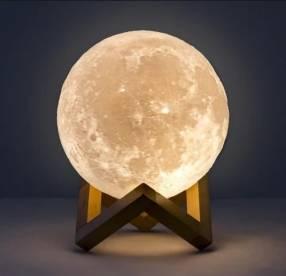 Lámpara luna de 30 cm