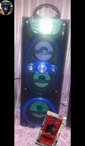 Parlante karaoke portátil