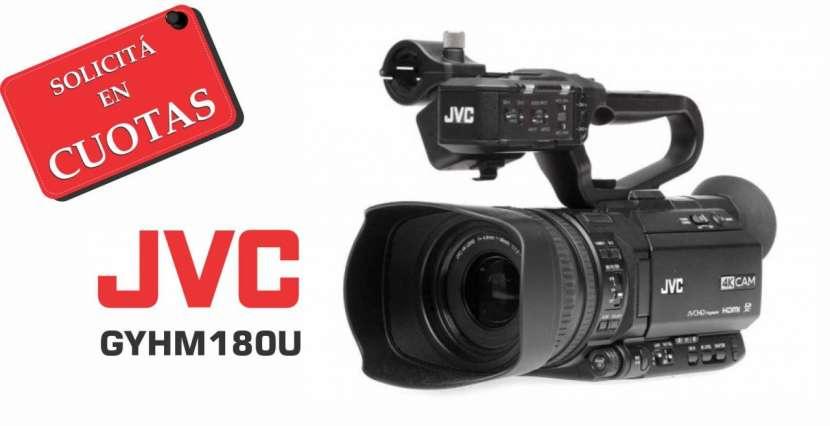 Filmadora JVC GYHM180U 4K - 0
