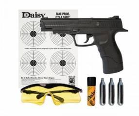 Pistola co2 4.5mm + accesorios