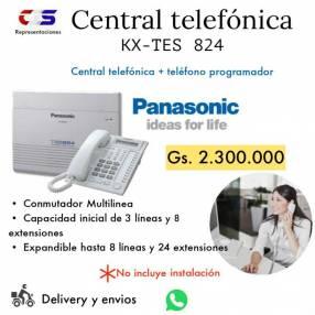 Central telefónica Panasonic