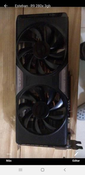 GTX 760 de 2 gb EVGA