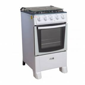 Cocina a gas jam mod. Safiro blanco 4h (60018)