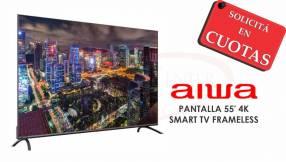 TV Smart LED AIWA 55 pulgadas 4K UHD